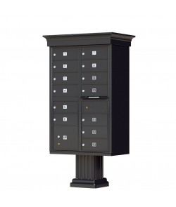 Crown Cap and Pillar Pedestal accessories - 13 compartment