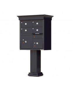 Crown Cap and Pillar Pedestal accessories - 4 oversized compartments