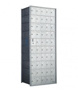 "50 A Doors, 55""H Private Horizontal Mailbox"